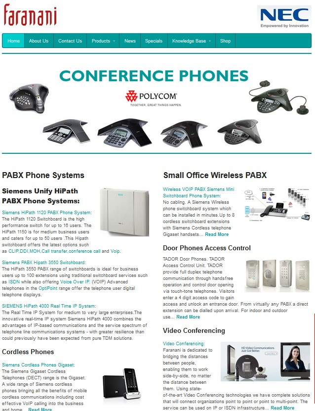 Siemens-Unify-website