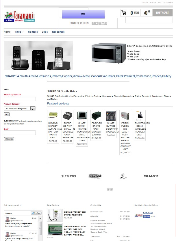 sharpsa-website